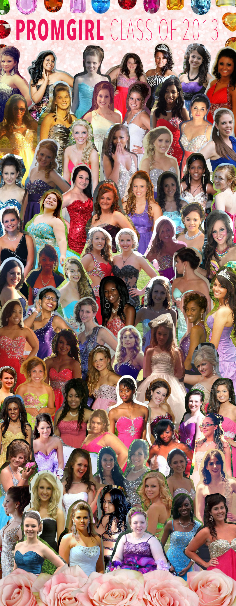 2013 yearbook collage