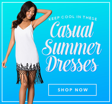 Keep Cool in these Summer Casual Dresses