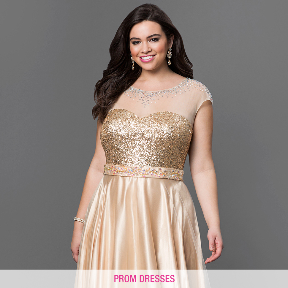 Plus Size Homecoming Dresses Evening Gowns