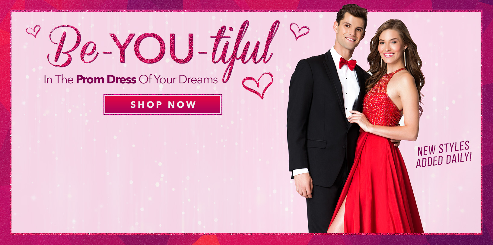 Be-YOU-tiful in the Prom Dress of your dreams