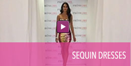Video of sequin homecoming dresses.