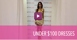 Video of homecoming dresses available at PromGirl for less than $100.