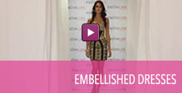 Video of embellished homecoming dresses.