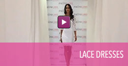 Video of lace homecoming dresses.