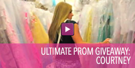 Video of Ultimate Prom Giveaway Winner Courtney.