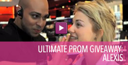 Video of Ultimate Prom Giveaway Winner Alexis.