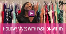 Video of holiday party dress favorites.