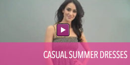 View video of casual Summer dresses.