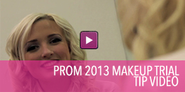 Video with tips on make up for prom.