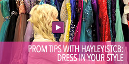 Video with tips on how to dress in your own style.