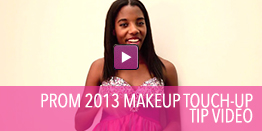 Video on how to touch up your prom make up.