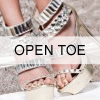 Open Toe Shoes
