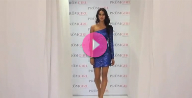 Video from PromGirl's prom fashion show.