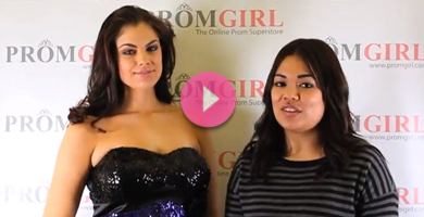 Video of Faviana plus size sequin prom dress.