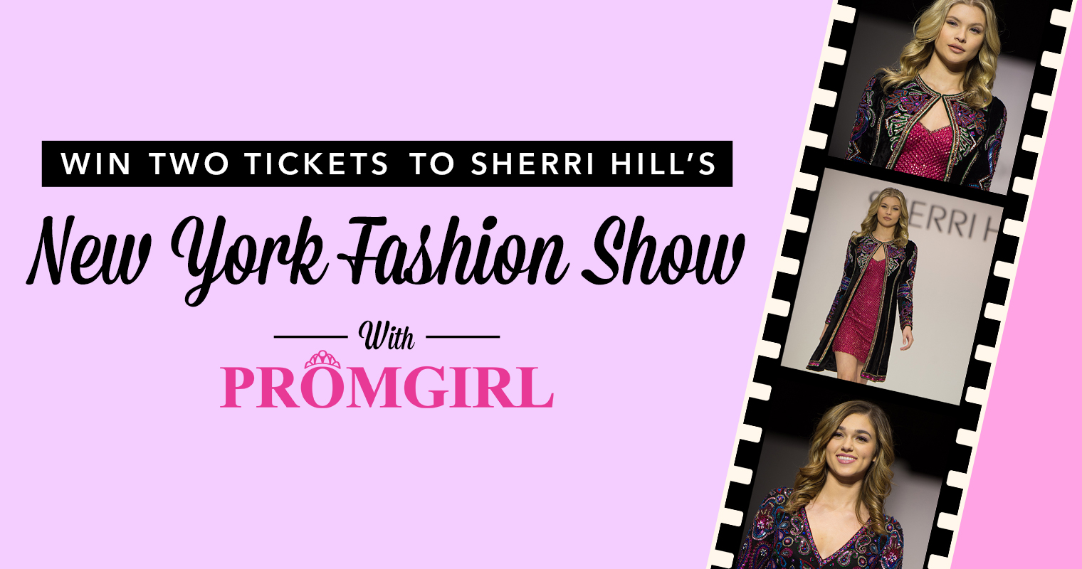 Sherri Hill Fashion Show Contest