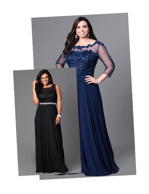 Plus-Size Prom Dresses, Gowns in Plus Sizes- PromGirl