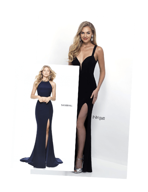 Prom Dresses in Colors: Red, Black, Blue