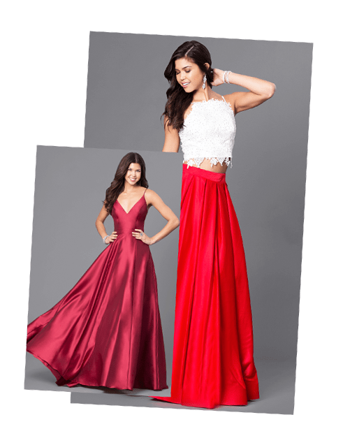 Top Brand Name Prom Dresses, Evening Gowns