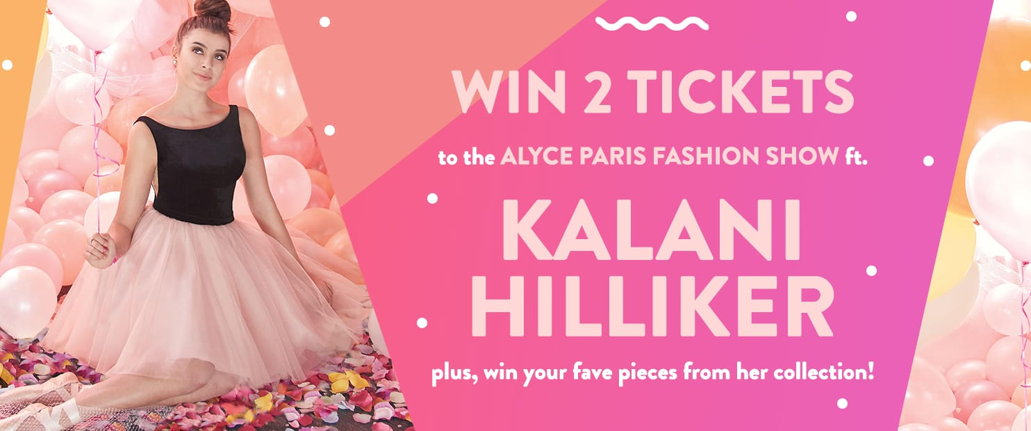 Alyce Paris Fashion Show Ft. Kalani Hilliker
