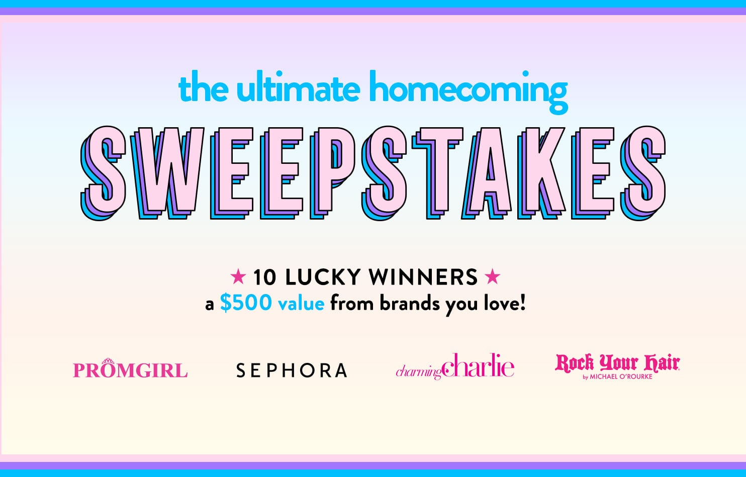 Ultimate Homecoming Sweepstakes 2017
