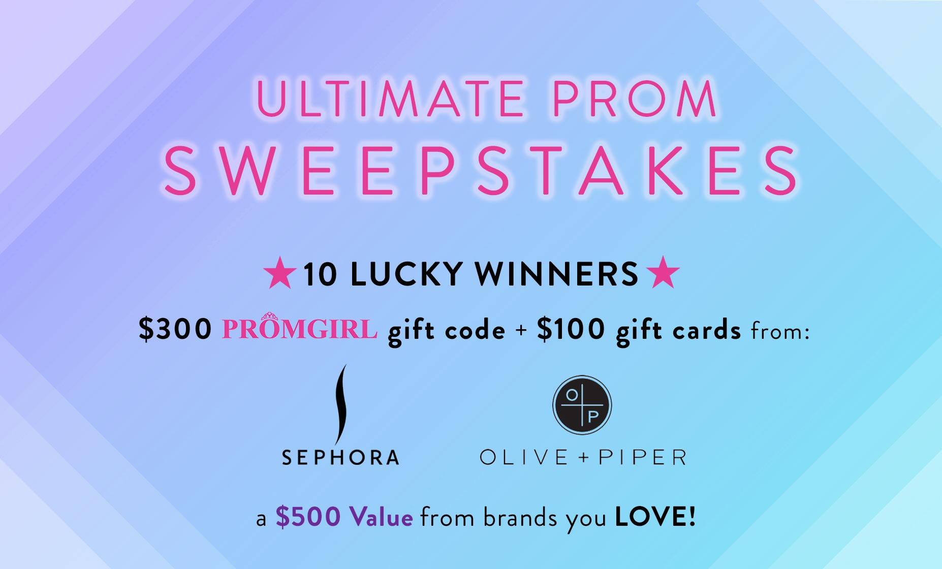 Ultimate Prom Sweepstakes