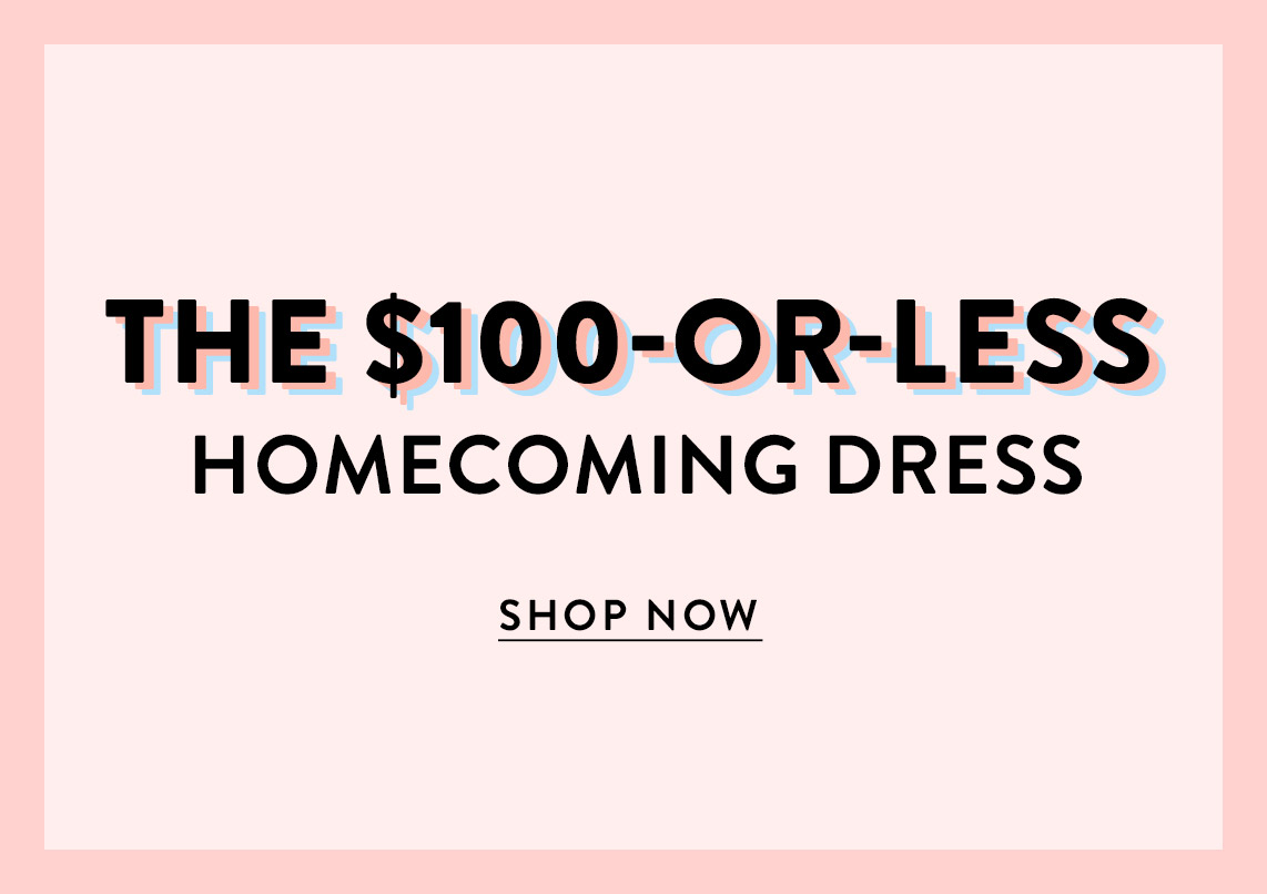 $100 or less Homecoming Dress