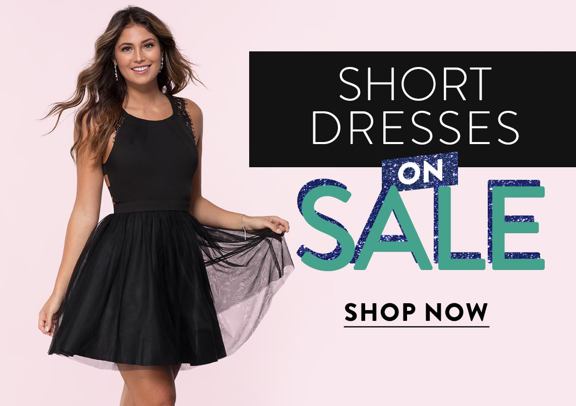 Short Dresses on Sale